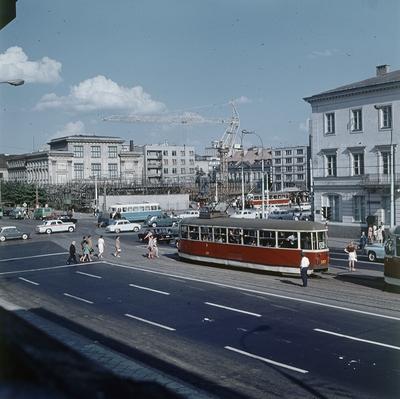 plac Dzierżyńskiego ( ob. Plac Bankowy) autor Rutowska Grażyna