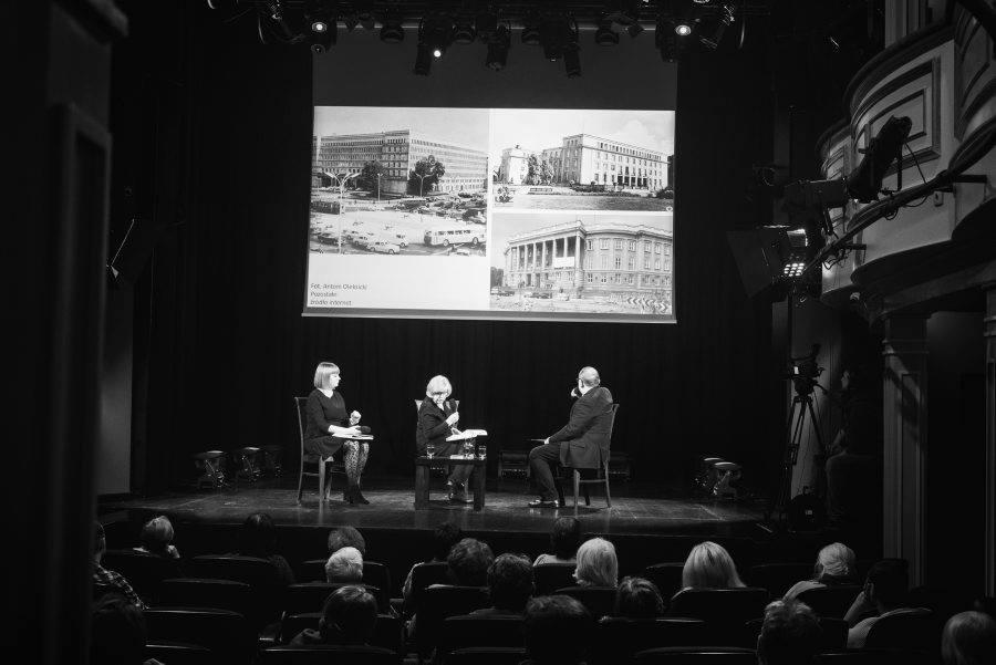 Bitwa o kulturę/literaturę, 27 listopada 2018, fot. Dorota Awiorko, zdjęcia powstały w Teatrze Starym w Lublinie © Teatr Stary w Lublinie