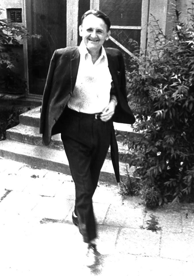 Romuald Dylewski na os. Mickiewicza w Lublinie w latach 60. XX w.
