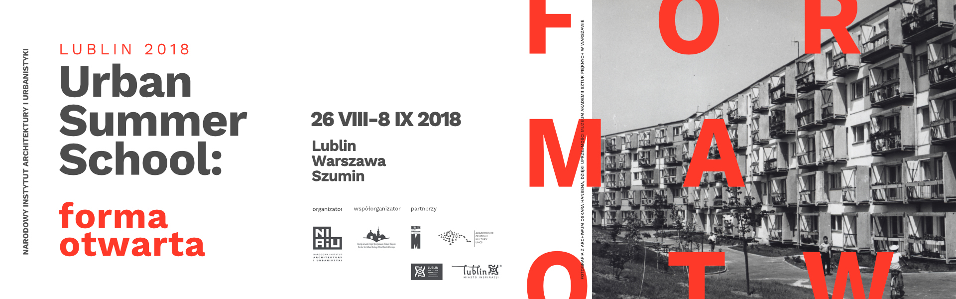Urban Summer School – National Institute of Architecture and